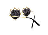COLUMBINE Embellished Sunglasses - A Rock on a Lens