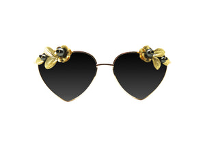 FEMI Embellished Sunglasses - A Rock on a Lens