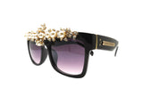 GARLAND Embellished Sunglasses - A Rock on a Lens