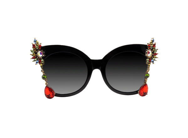 GAYA - Embellished Sunglasses - A Rock on a Lens