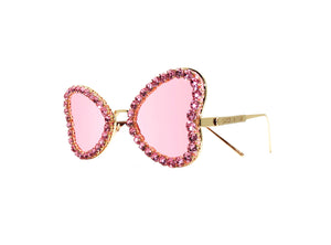 JEAN Embellished Sunglasses - A Rock on a Lens