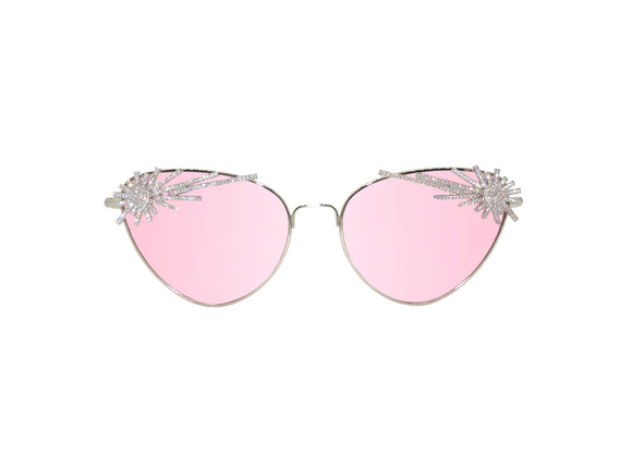 LE FEU Embellished Sunglasses - A Rock on a Lens