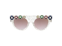 NATALIA Embellished Sunglasses - A Rock on a Lens