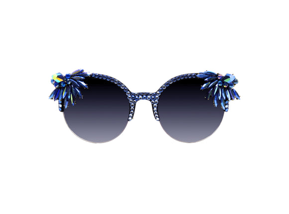 NIXIE Embellished Sunglasses - A Rock on a Lens