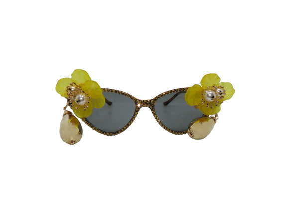 NORTH MELBOURNE Embellished Sunglasses
