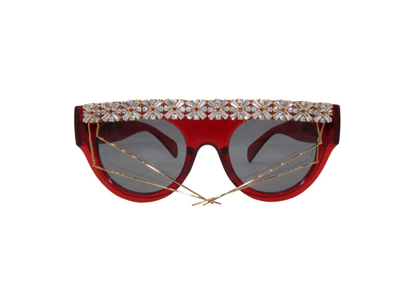 Quarantina Embellished Sunglasses