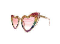 Custom PRIDE Sunglasses - A Rock on a Lens
