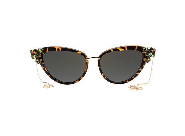 VITRAIL Embellished Sunglasses - A Rock on a Lens