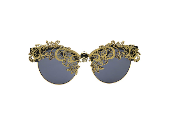 ZILANT Embellished Sunglasses - A Rock on a Lens