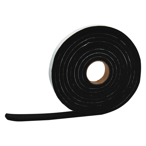 "5/32"" X 3/4"" X 50', WEATHER STRIPPING TAPE"