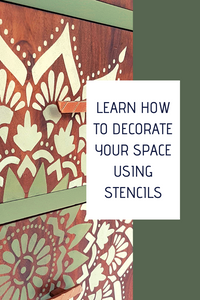 Introduction to Painting - Spice it Up with Stencils | July 6th - Caramel Treasures