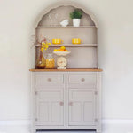 Vintage welsh dresser in cream - Caramel Treasures