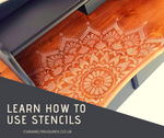 Annabell Duke Paint Workshop - Spice it Up with Stencils | 22nd of June - Caramel Treasures