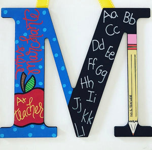 Hand Painted Monograms