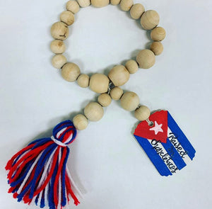Raised on Chancletazos Decorative Beads