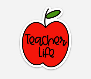 Teacher Life Sticker