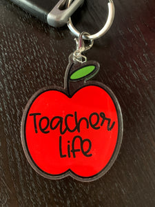 TEACHER LIFE KEYCHAIN