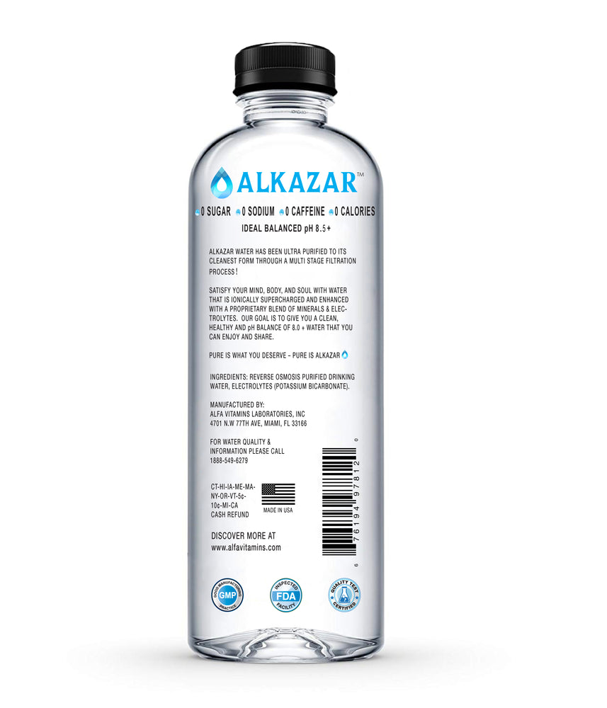 ALKAZAR water bottle - 34oz
