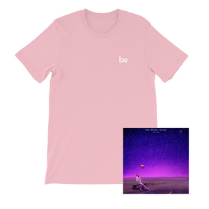 'be' T-Shirt (Pink) + Digital Album