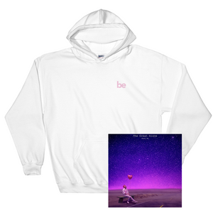 'be' Hoodie (White) + Digital Album