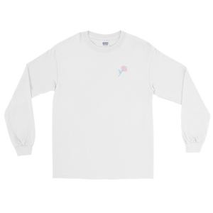 'Beauty Hurts' Long Sleeve Shirt (White) + Digital Album