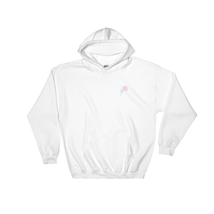'Beauty Hurts' Hoodie (White) + Digital Album