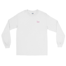 Load image into Gallery viewer, 'be' Long Sleeve Shirt (White) + Digital Album