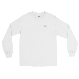 'be' Long Sleeve Shirt (White) + Digital Album