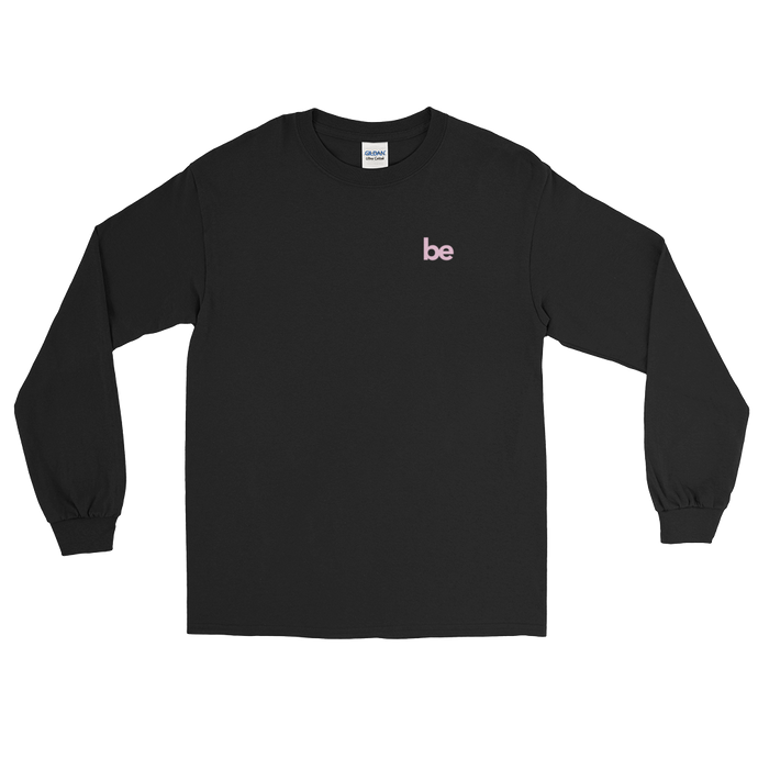 'be' Long Sleeve Shirt (Black) + Digital Album