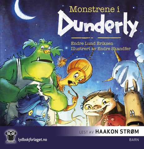 Monstrene i Dunderly. Lydbok. CD