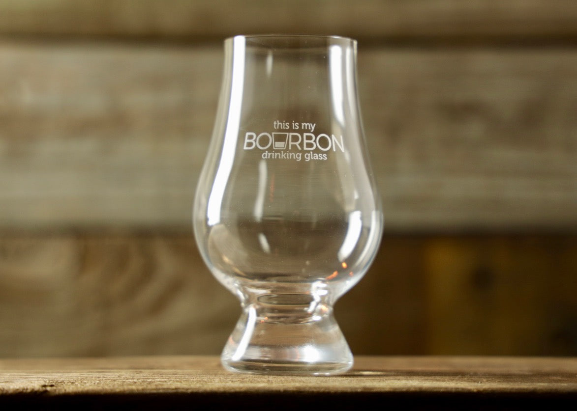 This Is My Bourbon Drinking Glass Glencairn
