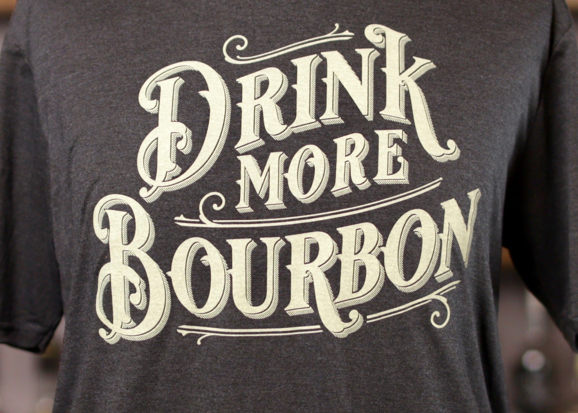 Drink More Bourbon Bold Tee