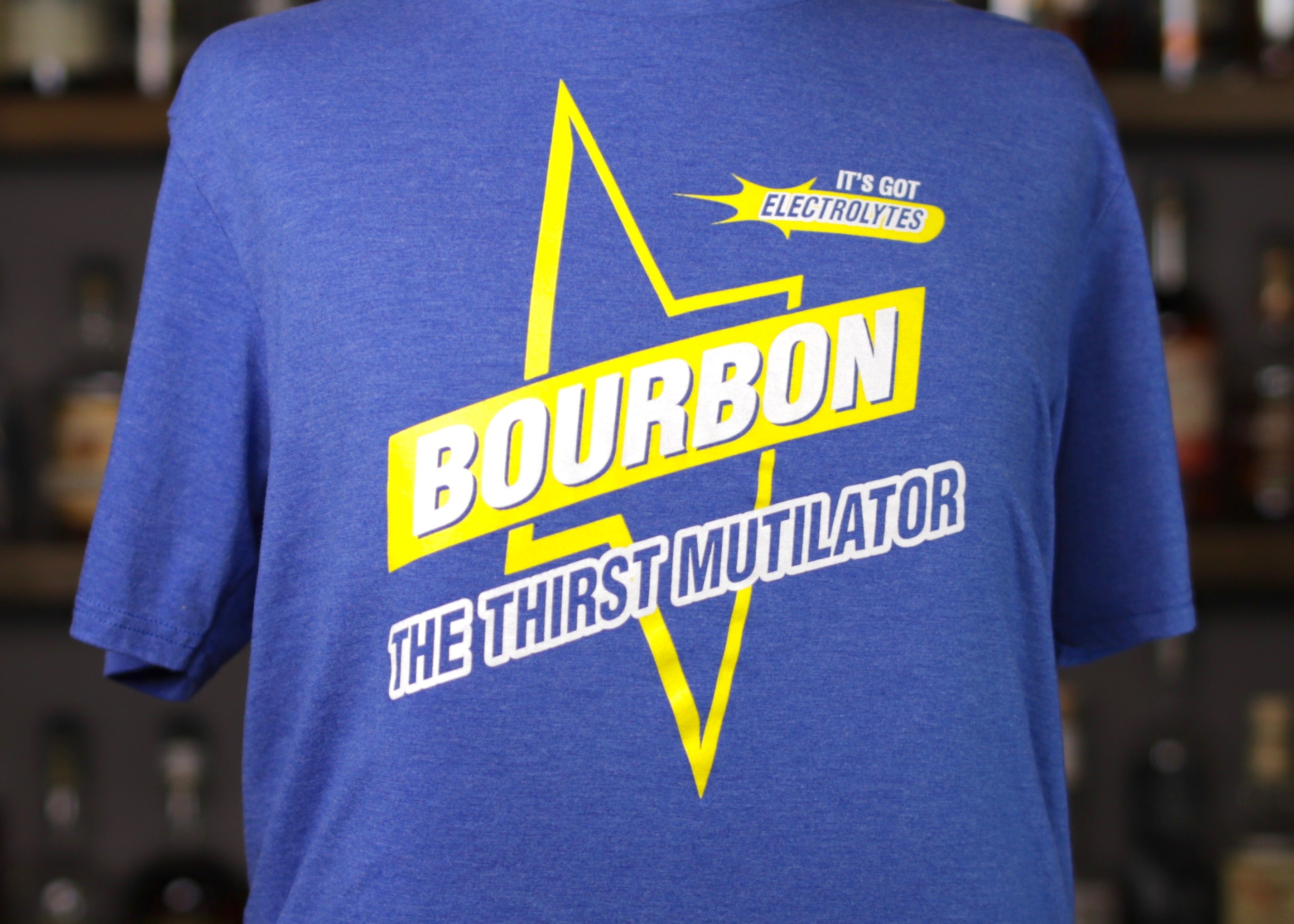 Bourbon: The Thirst Mutilator Bolt Tee
