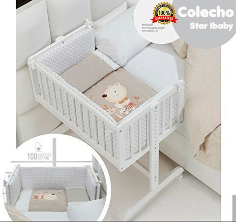 Minicuna colecho completa Star Ibaby