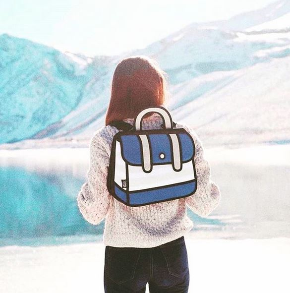 Stripe Backpack- All Colours- LAST PIECE