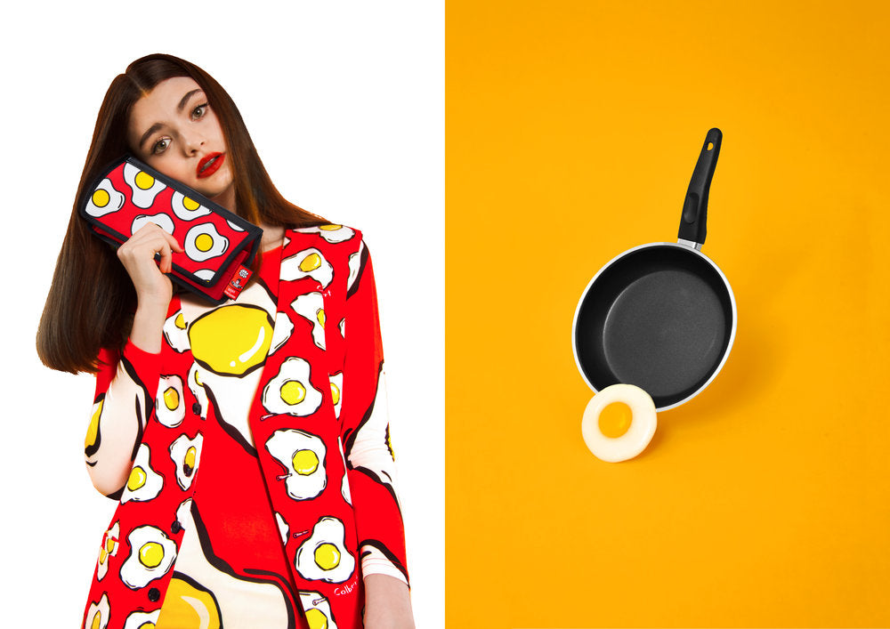 Egg Red Purse & Banana Yellow Purse