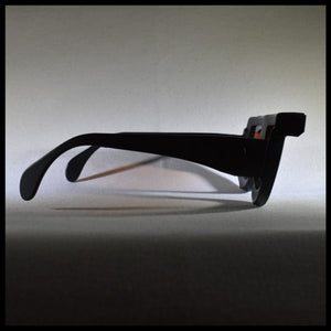 1970 retro sunglass frame side view