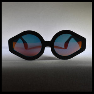 front view of the bandit sunglass frame
