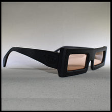 Load image into Gallery viewer, men's black sunglass frames