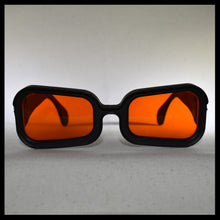Load image into Gallery viewer, Vintage Visor sunglasses in orange