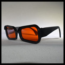 Load image into Gallery viewer, Vintage Visor Sunglasses with Orange Lenses