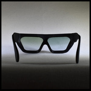 P17 sunglasses in black, rear view
