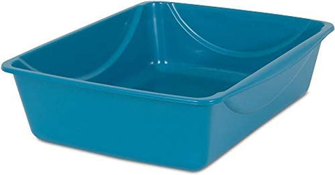 Petmate Open Cat Litter Box, Blue Mesa/Mouse Grey,