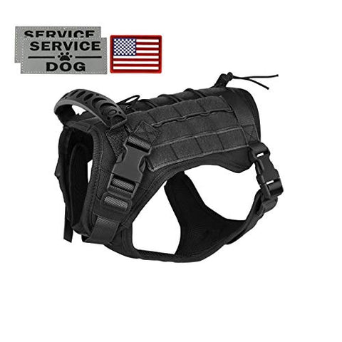 Tactical Service Dog Vest Harness - Mia's Pet Supply