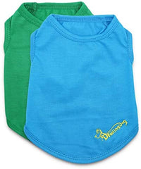 DroolingDog Puppy Clothes Pet T Shirt for Extra Small Dogs, XS, Pack of 2 - Mia's Pet Supply