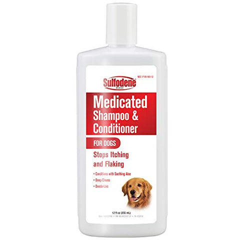 Pet medicated Shampoo