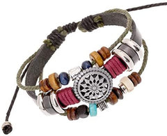 Lady Bohemia Wind Beaded Multilayer Hand Woven Bracelet Jewelry - Mia's Pet Supply