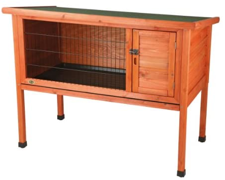 1-Story Rabbit Hutch, 1-Story Rabbit Hutch, Large: Garden & Outdoor - Mia's Pet Supply