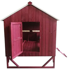 Omitree Deluxe Large Backyard Wood Chicken Coop Hen House 4-8 Chickens - Mia's Pet Supply