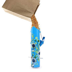 : Bird Feeders for Outside Hanging Metal Tube - Mia's Pet Supply